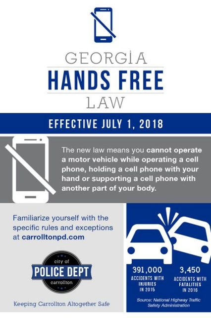 Georgia Hands Free Law, image